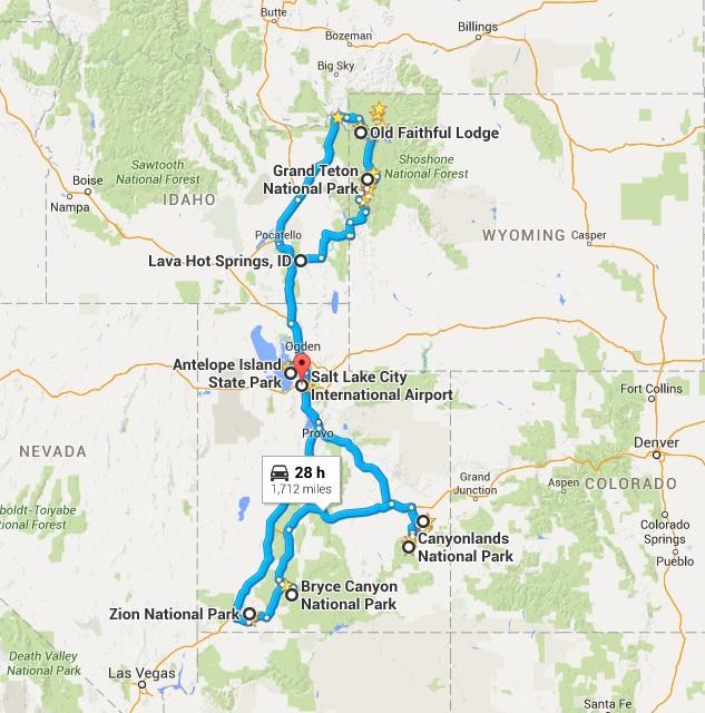 Wild West map